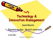 Technology and Innovation Management