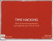 Time Hacks for Work