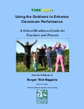 Time Out: Using the Outdoors to Enh...