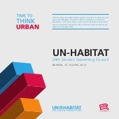 Time to Think Urban. UN-Habitats Vi...