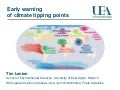 Tim Lenton - Early warning of climate tipping points