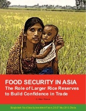 Food security in Asia: the role of ...