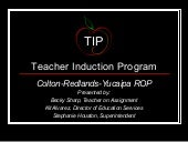 TIP: A Teacher Support Program for ...