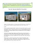 Tips about Choosing the Right Plastic Storage Sheds