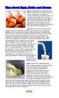 Tips about Eggs, Dairy and Cream