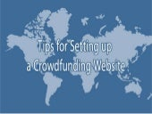 Tips for setting up a crowdfunding website
