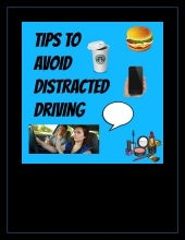 Tips to avoid distracted driving!