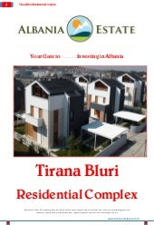 Tirana Villas for Sale - Villa Bluri
