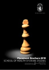 Final Placement Brochure 2010, Scho...
