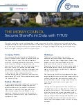 TITUS Metadata Security for SharePoint -  Moray Council Case Study