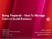 Case Study: Being Prepared - Managi...