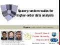 Spacey random walks and higher-order data analysis