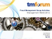 TM Forum Fraud Management Group Act...