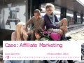 Avans Hogeschool - Minor Online Marketing - T-Mobile Affiliate Marketing