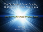 The Big Bang of Crowdfunding: Start...