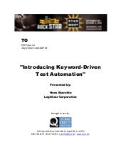Introducing Keyword-Driven Test Aut...