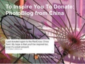 To Inspire You To Donate Photo Blog...
