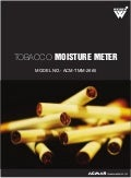 Tobacco Moisture Meters by ACMAS Technologies Pvt Ltd.