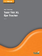 Tobii T60 Xl User Manual S