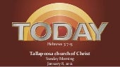 Today 1 8-12 sermon