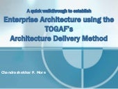 Enterprise Architecture using TOGA...