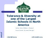 Tolerance and diversity_at_ifs
