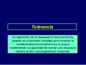 Tolerancia y autoinmunidad