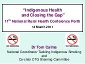 Indigenous Health and Closing the Gap