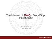 The Internet of Everything:  Tom Lee, Stanford School of Engineering