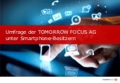 Tomorrow Focus Smartphone Umfrage