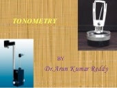 Tonometry by arun