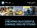 [Preservation Tips & Tools] 9 Tips for Creating Successful Petitions on Change.org