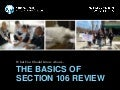 [Preservation Tips & Tools] The Basics of Section 106 Review