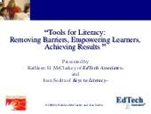 Tools For Literacy.2406.Mc Claskey
