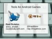 Tools for developing Android Games