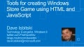 Tools for creating a windows store game using html and java script