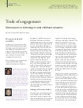 Tools of engagement Status report on technology in early childhood education