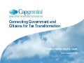 Connecting Government and Citizens for Tax Transformation