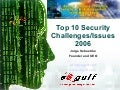 Top 10 Security Challenges