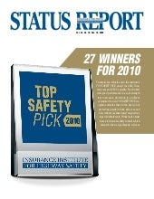 Top Safety Picks 2010 Vehicles Iihs