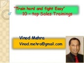 10 Top Sales Trainings