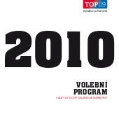 TOP09 - Volebni program do poslanck...