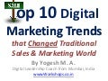 Top 10 Digital Marketing Trends that Changed Business World
