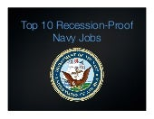 US Navy Careers: Top 10 Recession P...