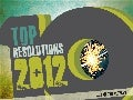 Top 10 Resolutions 2012 - #resolutions #newyears