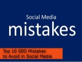 Top 10 SEO Mistakes to Advoid in So...