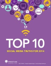 Top 10 social media truths for 2014