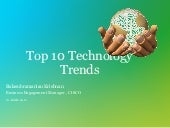 Top10 technology trends