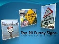 Top 20 Funny Signs