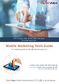 Top 20 Mobile Marketing Tools